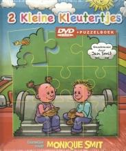 2 Kleine Kleutertjes  Monique en Jan Smit DVD+PUZZELBOEK