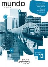 , Mundo 12 Wie wonen er in Nederland? leerjaar 2 vmbo-kgt Projectschrift