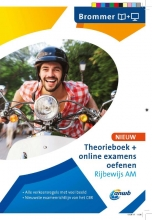 ANWB Theorieboek+online examens oefenen Rijbewijs AM - Brommer