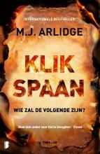 M.J.  Arlidge Klikspaan HELEN GRACE DEEL 4