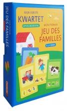 ZNU , Mijn eerste kwartet - Op de boerderij Mon premier jeu des familles - A la ferme