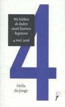 Thomas Erdbrink, Hella de Jonge Toesprakenboekje 4/5 mei 2016 door Hella de Jonge en Thomas Erdbrink