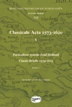 , Classicale Acta 1573-1620 X Band 1