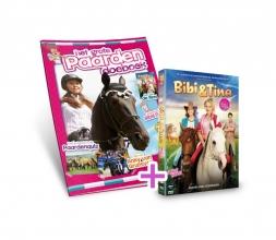 , Paardendoeboek + DVD Bibi en Tina bioscoopfilm
