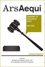 , Jurisprudentie Goederen- en faillissementsrecht 2020