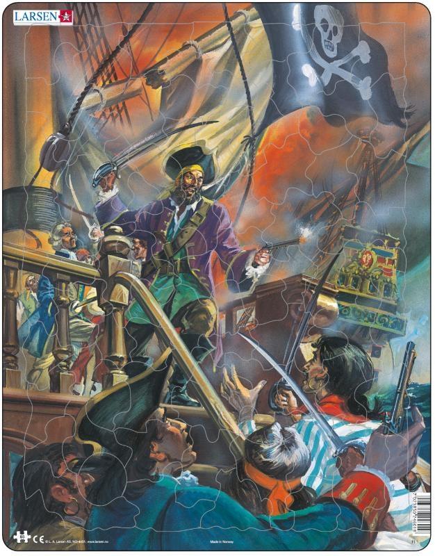 ,Larsen puzzel- Piraten- FL1