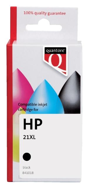 ,Inktcartridge Quantore HP C9351A 21XL zwart