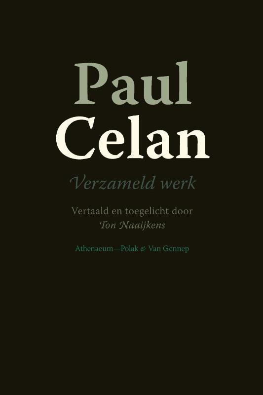 Paul Celan,Verzameld werk