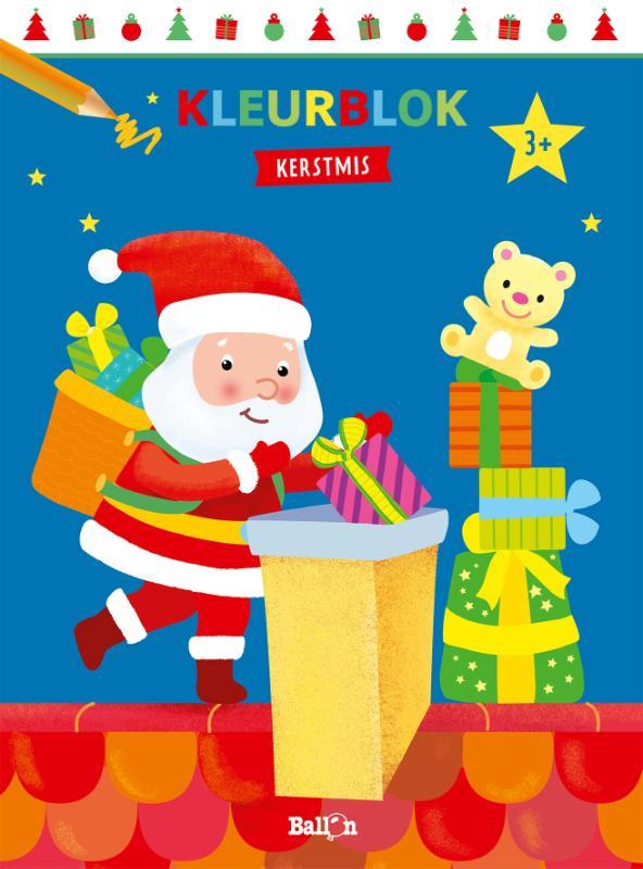 ,Kleurblok Kerstmis