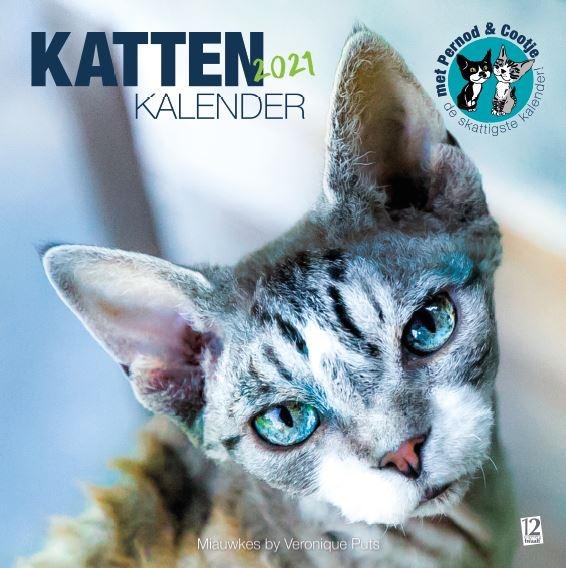 Veronique Puts,Kattenkalender 2021