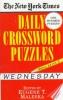 Maleska ,New York Times Daily Crossword Puzzles (Wednesday),
