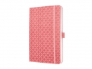 ,notitieboek Sigel Jolie Flair A5 hardcover gelinieerd rose