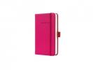 ,<b>notitieboek Sigel Conceptum Pure hardcover A6 roze          gelinieerd</b>