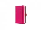 ,notitieboek Sigel Conceptum Pure hardcover A6 roze geruit