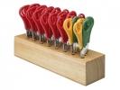 ,scharenblok Westcott hout gevuld met 32 scharen
