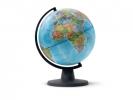 ,globe Mini 16cm diameter zwart politiek kaartbeeld
