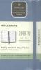,Moleskine Wochen Notizkalender, 18 Monate, 2018/2019, Pocket/A6, Hard Cover, Aschblau