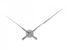 ,Wandklok NeXtime dia. 85 cm, aluminium, chrome, Hands