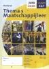 Jasper van den Broeke,Thema`s Maatschappijleer VMBO 2019-2020 Werkboek KGT