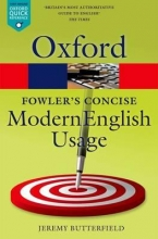 Fowler`s Concise Dictionary of Modern English Usage