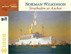 Not Available Norman Wilkinson Stratheden at Anchor 1,000-piece Jigsaw Puzzle