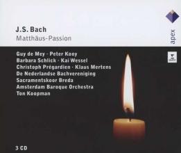 Matthaus Passion / Bach, J.S.