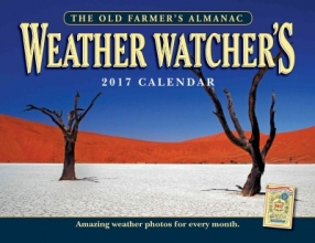 Almanac, Old Farmer The Old Farmer`s Almanac 2017 Weather Watcher`s Calendar