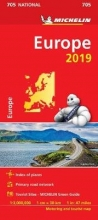 Europe 2019 - Michelin National Map 705