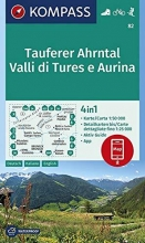 , Tauferer Ahrntal, Valle di Tures e Aurina 1:50 000