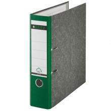 , Ordner Leitz A4 80mm groen gewolkt