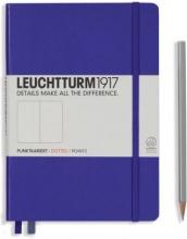 Lt346687 , Leuchtturm notitieboek medium 145x210 dots/puntjes purple