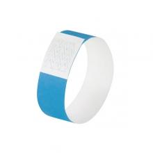 , evenementenbandjes Sigel super soft, 255x25mm 120 stuks     neon blauw
