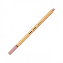 , Fineliner STABILO point 88/28 donker blush