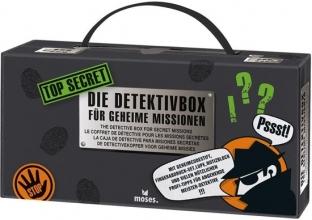 Mos-30711 , Top secret detective box - vingerafdrukken, onzichtbare berichten, sporen etc.
