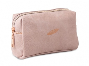 , Cosmetica etui 21 cm midnight gold soft pink