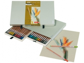 , Kleurpotloden Bruynzeel 8840 Design pastel 24stuks assorti