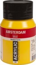 Talens amsterdam acrylverf pot 500ml  azogeel middel 269