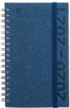 520cur114.bl , Schoolagenda cursus 2020-2021 eco blauw