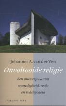 Johannes A. van der Ven , Onvoltooide religie