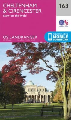 Ordnance Survey,Cheltenham & Cirencester, Stow-on-the-Wold