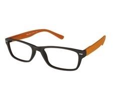 ,Leesbril +1.00 Feeling bruin-oranje