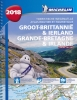 ,<b>Atlas Michelin Groot Brittannie & Ierland 2018</b>