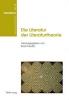 Boris Previsic, ,Die Literatur Der Literaturtheorie