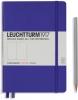<b>Lt346687</b>,Leuchtturm notitieboek medium 145x210 dots/puntjes purple