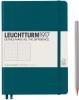 <b>Lt359696</b>,Leuchtturm notitieboek medium 145x210 dots/puntjes pacific blauwgroen