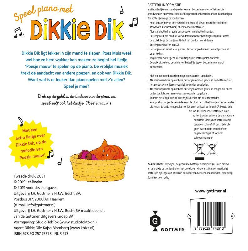 Jet Boeke,Speel piano met Dikkie Dik