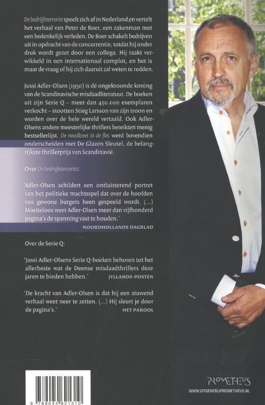 Jussi Adler-Olsen,De bedrijfsterrorist