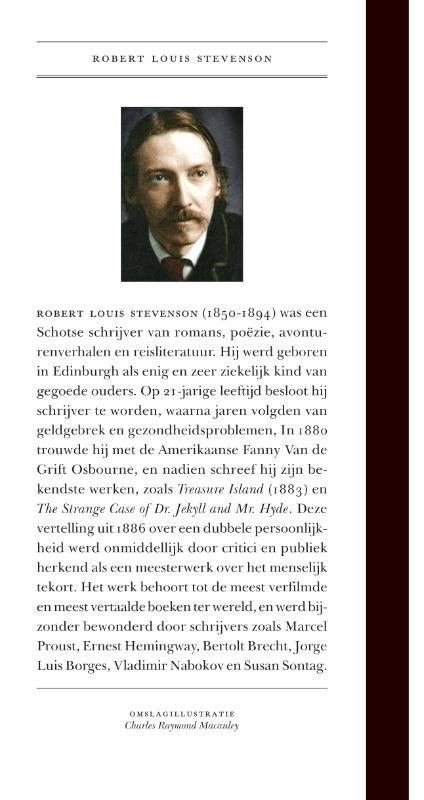 Robert Louis Stevenson,De zonderlinge geschiedenis van dr. Jekyll en mr. Hyde