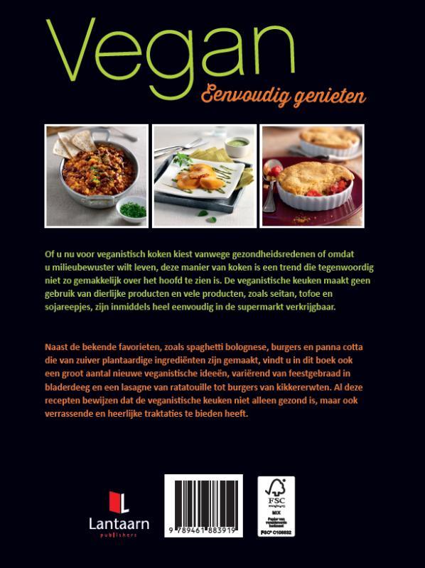 ,Vegan eenvoudig genieten