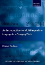 Florian Coulmas An Introduction to Multilingualism